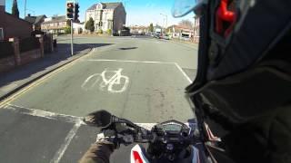 4. 2014 Ducati Hypermotard SP Test ride