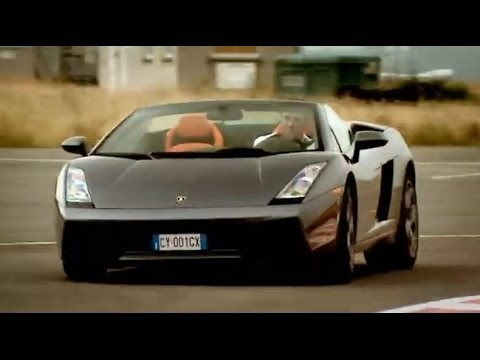Lamborghini Gallardo Spyder supercar review &#8211; Top Gear &#8211; BBC