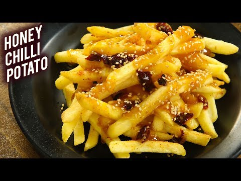 How To Make Honey Chilli Potato | McCain Honey Chilli Fries | Honey Chilli Potato Recipe By Varun
