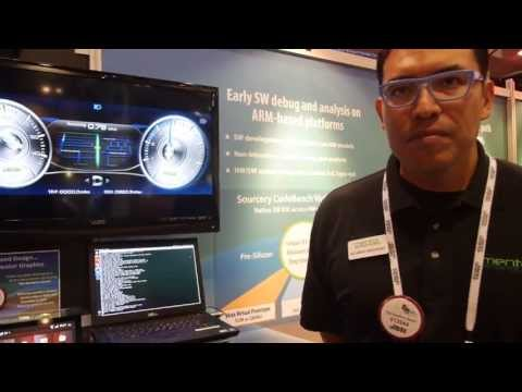 Mentor Graphics ARM Embedded Software demos