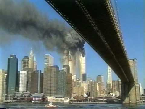 The Second Plane Hitting the Twin Towers