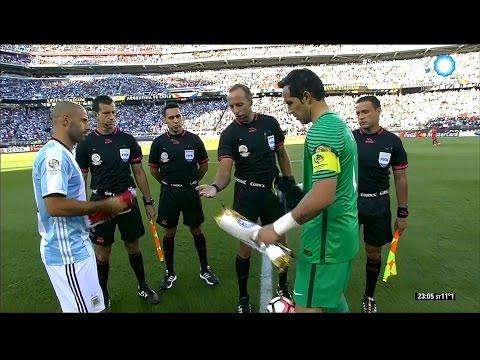 Argentina vs Chile - Copa América Centenario 2016 - Partido completo