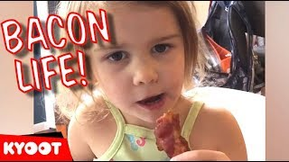 Kids Say the Darndest Things 41 | I Love Bacon More Than Dad!