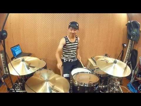 Maine Mendoza drums to BIGBANG'S Fantastic baby