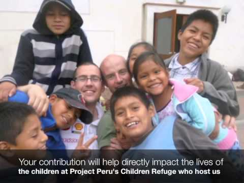 Project Peru-Helping build homes & employment for 500-Ben Brophy's 2013 Appeal-Your support please