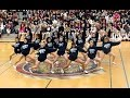Central High Cheerleaders dance at pep rally