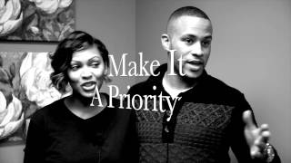 HMF TV: Hollywood Couple Meagan Good & Devon Franklin Talk Avoiding Hot Mess Relationships! - YouTube