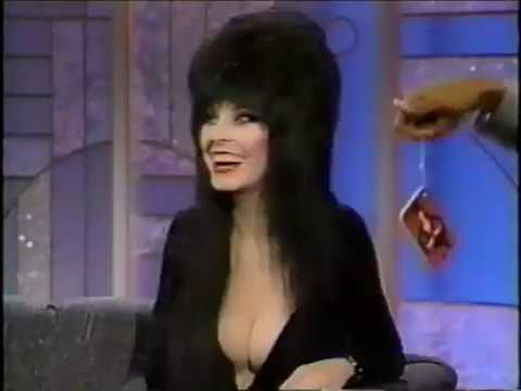 The Arsenio Hall Show with guest Elvira - Halloween 1989