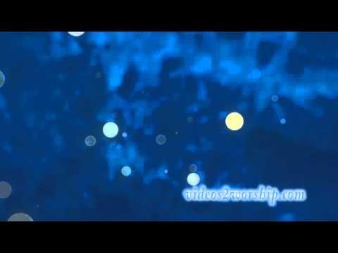 Blue Abstract Worship Video Loop