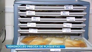 Epidemia de dengue aumenta demanda por plaquetas e desfalca hemonúcleo em Bauru