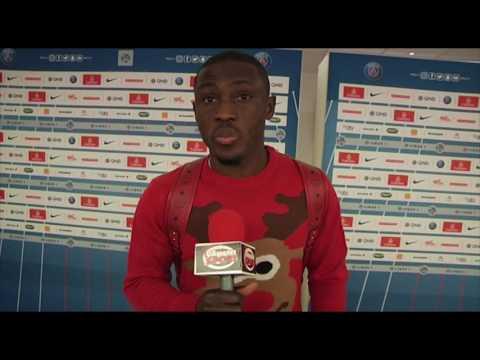 Majeed Warris(International Ghanéen) au micro çameditsport après Psg VLorient