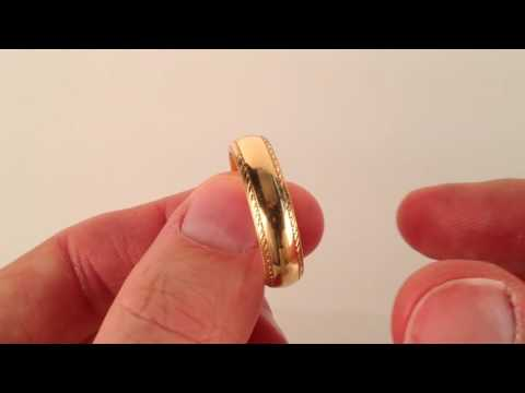 The Ultimate Men's Wedding Ring - The Winchester