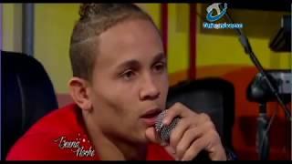 Audrys Nin Reyes LLORA en Entrevista con Nelson Javier en Buena Noche