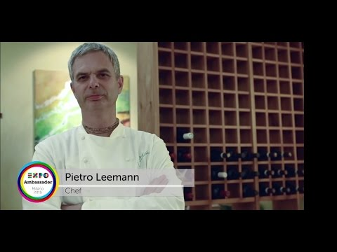 Expo Milano 2015 Chef Ambassador Pietro Leemann
