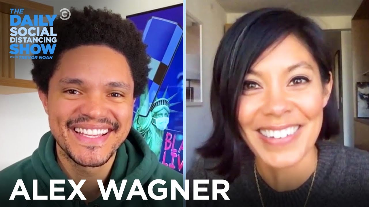 Alex Wagner – Why Americans Feel Anxiety And Heartbreak | The Daily Social Distancing Show