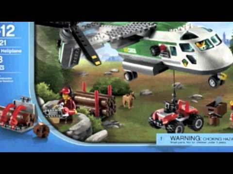 Video Video ad for the City 60021 Cargo Heliplane Toy Building