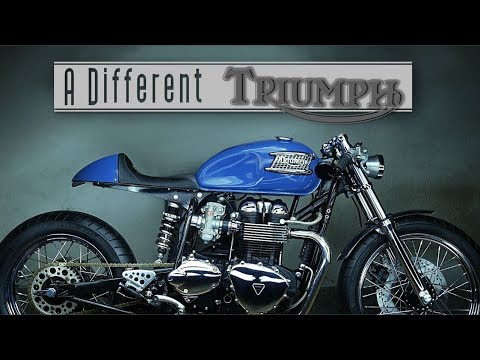Cafe Racer: Triumph Bonneville by PI Customs