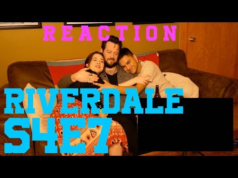 "Riverdale REACTION S4 E7 ""The Ice Storm"""