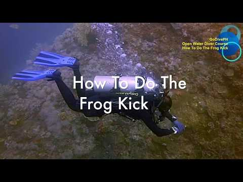 How To Do The Frog Kick | Scuba Diving