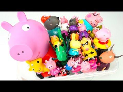 Свинка Пеппа коллекция игрушек канала Игрушкин ТВ - DomaVideo.Ru
