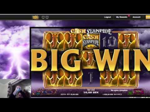 Turning things around - Big win on cash stampede