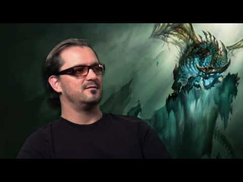 deathknight - Behind the scenes of the new expantion, Wrath of the lich King. THE Death Knigt. the video has some Audio Sync off but try to ignore that, it's still watchable!