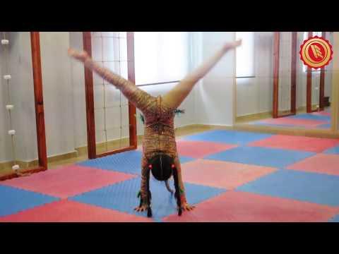 Erkan Koleji Öğrencimizin Jimnastik Dans Gösterisi