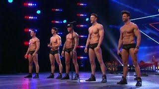 Sexy SixxPaxx-mannen strippen er op los - HOLLAND'S GOT TALENT - YouTube