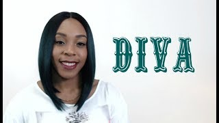 Sensual Vella Vella Synthetic Hair Lace Front Wig - DIVA --/WIGTYPES.COM COLOR: TTGREEN *Lace front wig *Natural yaki texture *Heat safe up to 400 degrees *N...