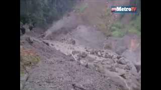 Banjir lumpur di kampung Mesilou