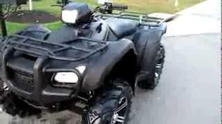 9. 2012 Honda Foreman 500 ES 4x4 ATV  LINE X offroad mudd