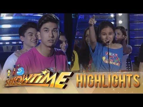 It's Showtime PUROKatatawanan: Chiena answers Nikko Natividad's joke