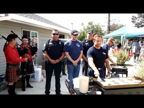 These Firemen Are Also Long-Distance Pancake Flippers [WATCH]