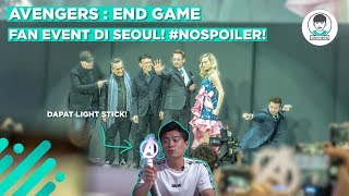 Video MURNI NGEVLOG AVENGERS END GAME FAN EVENT DI SEOUL!! #NOSPOILER MP3, 3GP, MP4, WEBM, AVI, FLV April 2019