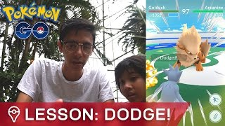 HOW TO DODGE PERFECTLY IN POKÉMON GO GYM BATTLES by Trainer Tips