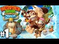 Donkey Kong Country Tropical Freeze: Co op Diddy Joins