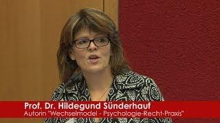 Prof. Dr. jur. Hildegund Sünderhauf, ehemalige Scheidungsanwältin, Wissenschaftlerin und Autorin des 900-seitigen wissenschaftlichen Fachbuchs