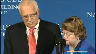 National Press Club Luncheon with Vaclav Klaus