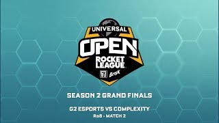 Universal Open Season 2 | Grand Finals Day 1 - G2 Esports vs Complexity