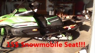10. Zr 700 Seat Mod!! |Mountain Cat seat on a Zr