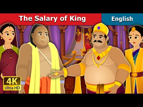 The Salary Of King Story in English | Stories for Teenagers | English Fairy Tales