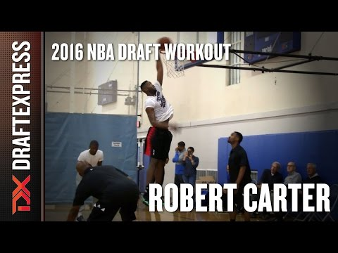 Robert Carter 2016 Pre-Draft Workout - DraftExpress Exclusive
