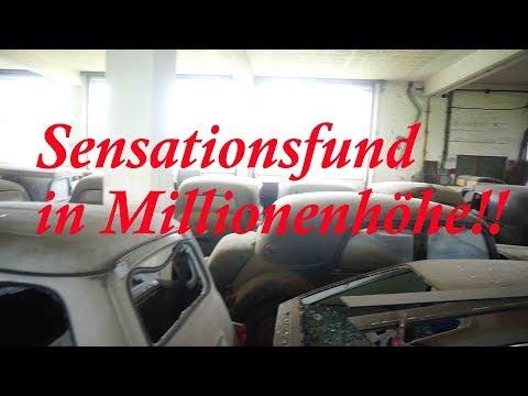 Lost Place Sensationsfund in Millionenhöhe!!!!!! Die Oldtimer Garage