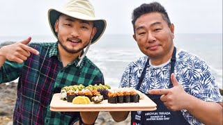 Video Two Sushi Chefs FORAGE for SUSHI Ingredients!! [Catch and Sushi Series Ep.11] MP3, 3GP, MP4, WEBM, AVI, FLV Agustus 2019