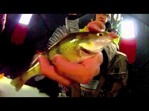Ice Fishing Michigan Late Ice Panfish – GoPro