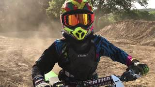 10. 13 year old can whip better than me. |  trents kx100 reveal