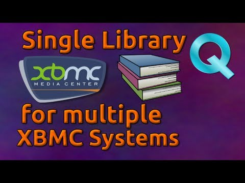 Sharing a Single Library for Multiple XBMC Systems