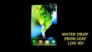 Raindrops Free Live Wallpaper YouTube video
