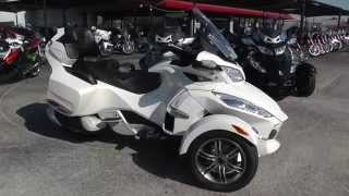 7. 000593 - 2011 Can Am Spyder RT SE5 Limited - Used Motorcycle For Sale