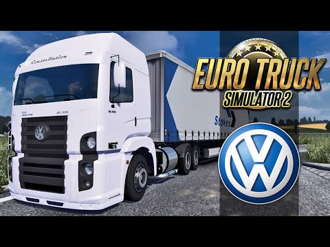 euro - Euro Truck Simulator 2 - Volkswagen Constellation ➨ Vídeo Novo: Jacaré Assassino - http://youtu.be/b72jQtTFAIM Mais de Euro Truck 2 - Serra Perigosa - http://youtu.be/Jdq6-fHOnAQ - Cegonha...